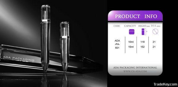 Crystal clear perfume bottle