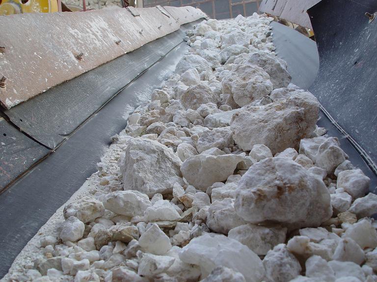 Raw Gypsum Powders