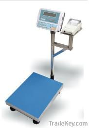HAIW-518 Platform Scale with Thermal Paper Printer