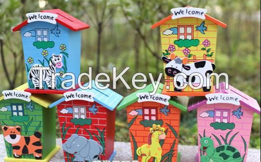 top popular money saving pot, cute coin bank,  funny coin saver as promotion gift