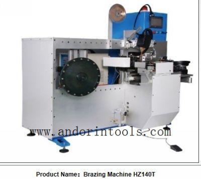 CNC Brazing machine for big circular saw blade