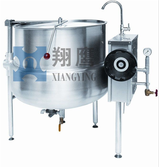 Direct Floor Mounted Tiltable Steam Jacketed Kettle