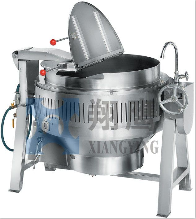 Tiltable Gas Heated Braising Stainless steel Kettle