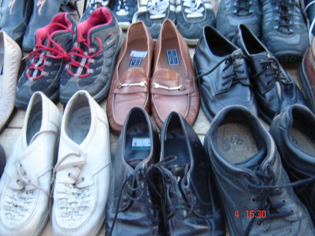 Used shoes used sneaker clothing etc
