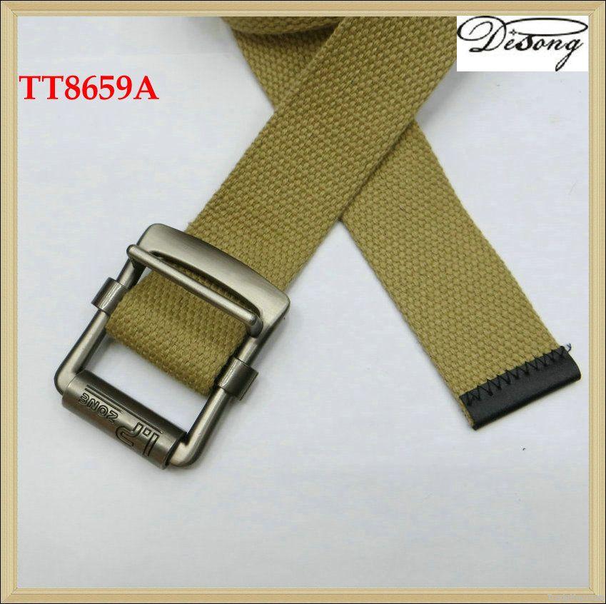 TT8659 Custom Fabric Belt For Men