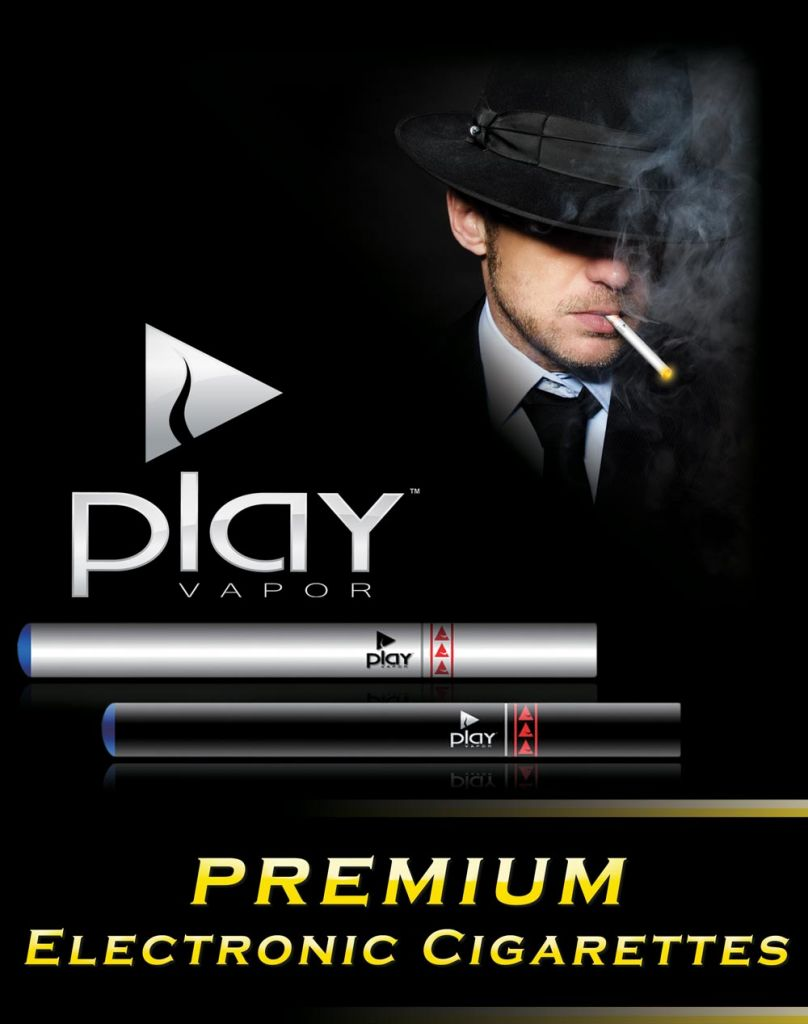 Play Vapor Electronic Cigarette Light Tobacco Refill Cartridge 5-Pack