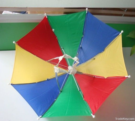 Hat umbrella,