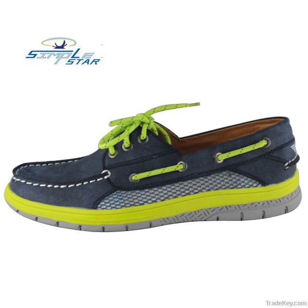 2013 newest mens boat shoes fashion casual leather shoes lace up