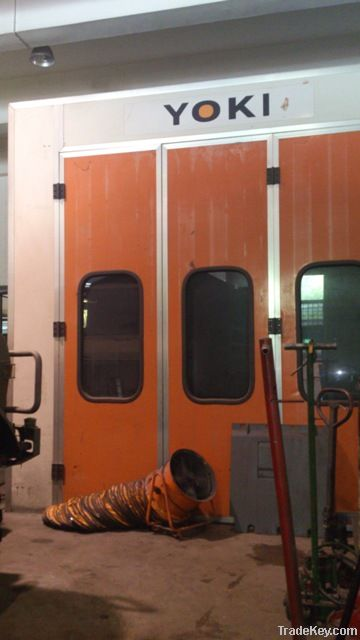 Automobile Spray Painting Booth (Used)