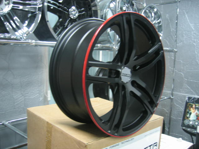 one-piece forged aluminium alloy wheel