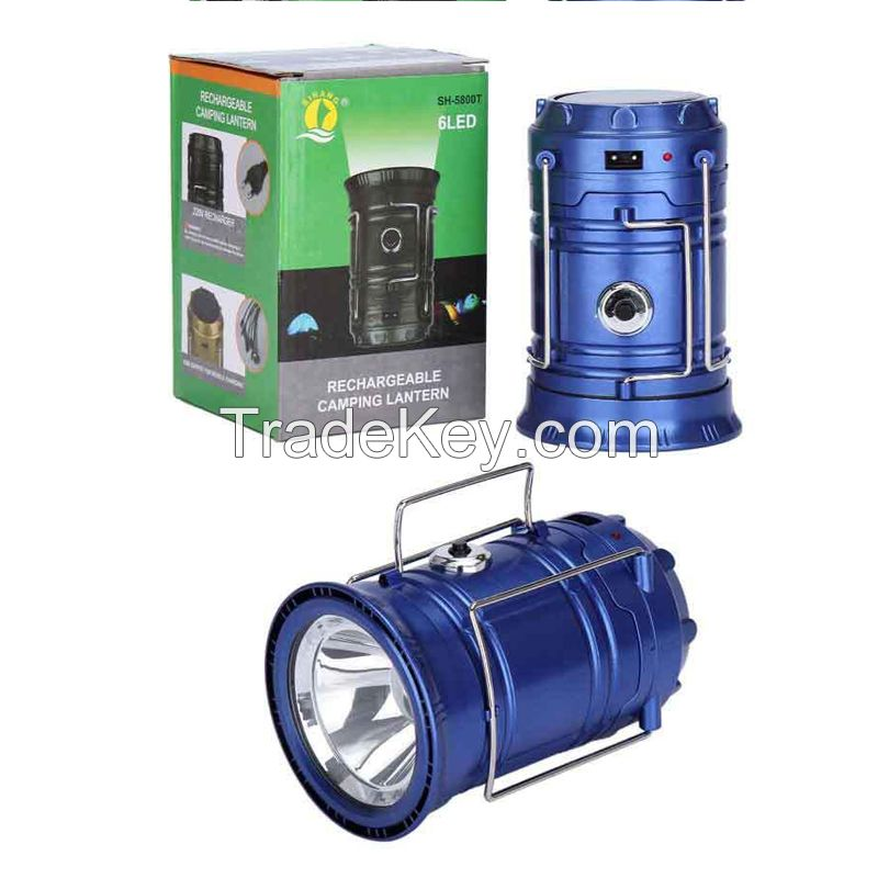 2016 New Telescope Solar Camping Light