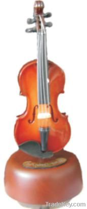 Violin music box
