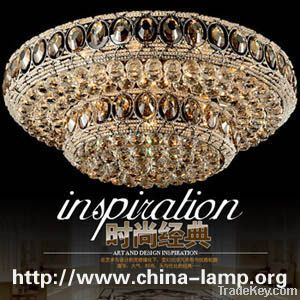 Luxury imported crystal lamps ceiling living room bedroom lamp LED lig
