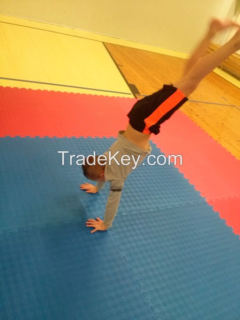 Taekwondo, karate, kickboxing, tricking, martial arts, fitness mats
