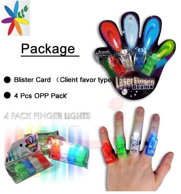 Flashing LED Finger