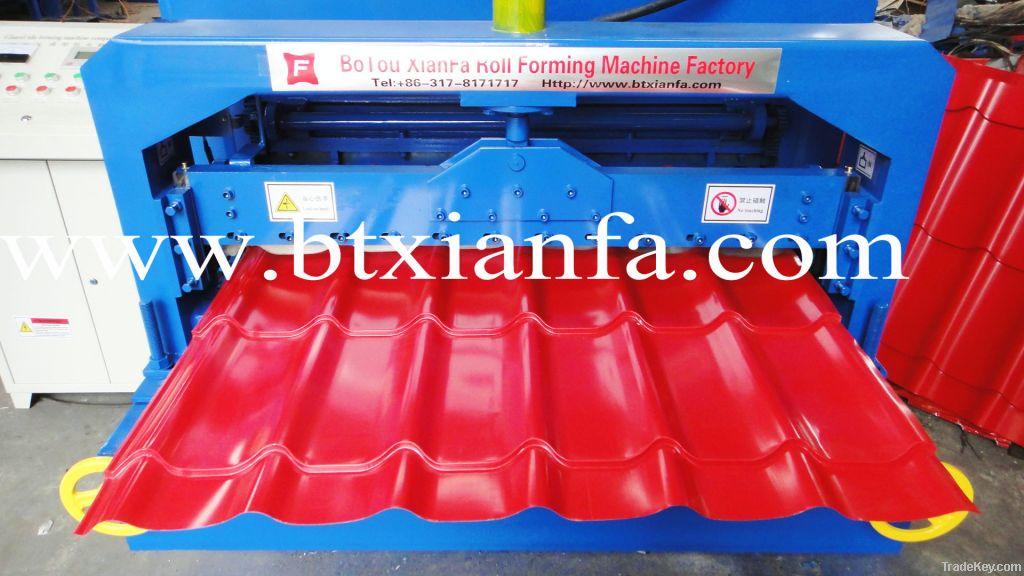 Glazed Tile Color Metal Roof Sheet Forming Machine
