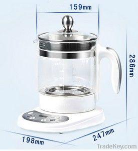Electric Borosilicate Glass Tea Pot