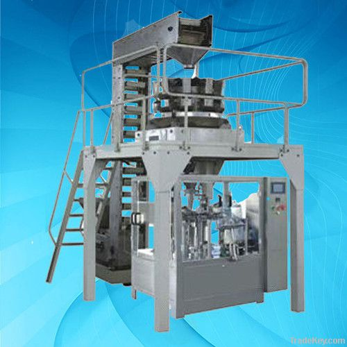 Automatic Rotary packing machine for solid/liquid/thick liquid/powder