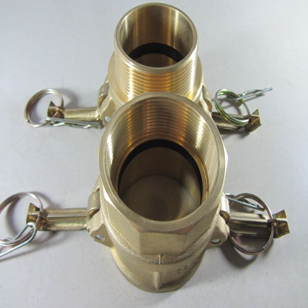 Brass Cam-and-Groove-Coupling Type C