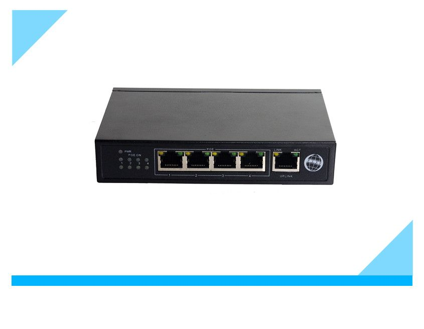 4 ports poe switch for IP cameras