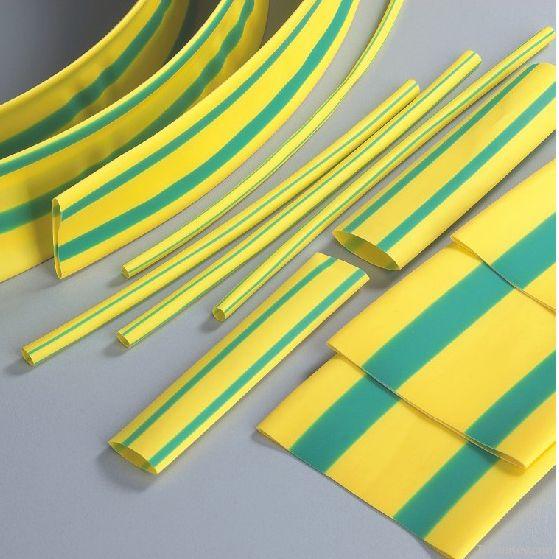 Yellow and Green Thermal Shrinkable Bushings HD-5 Series