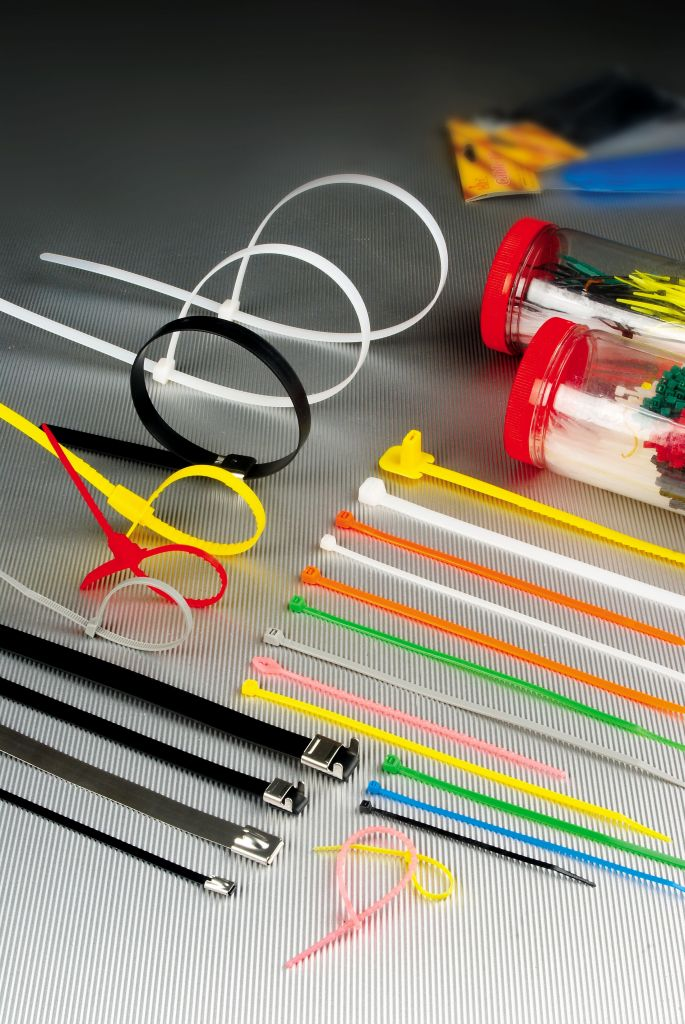 CE,ROSH Certificated Self Locking Cable Ties,Velcro Cable Tie
