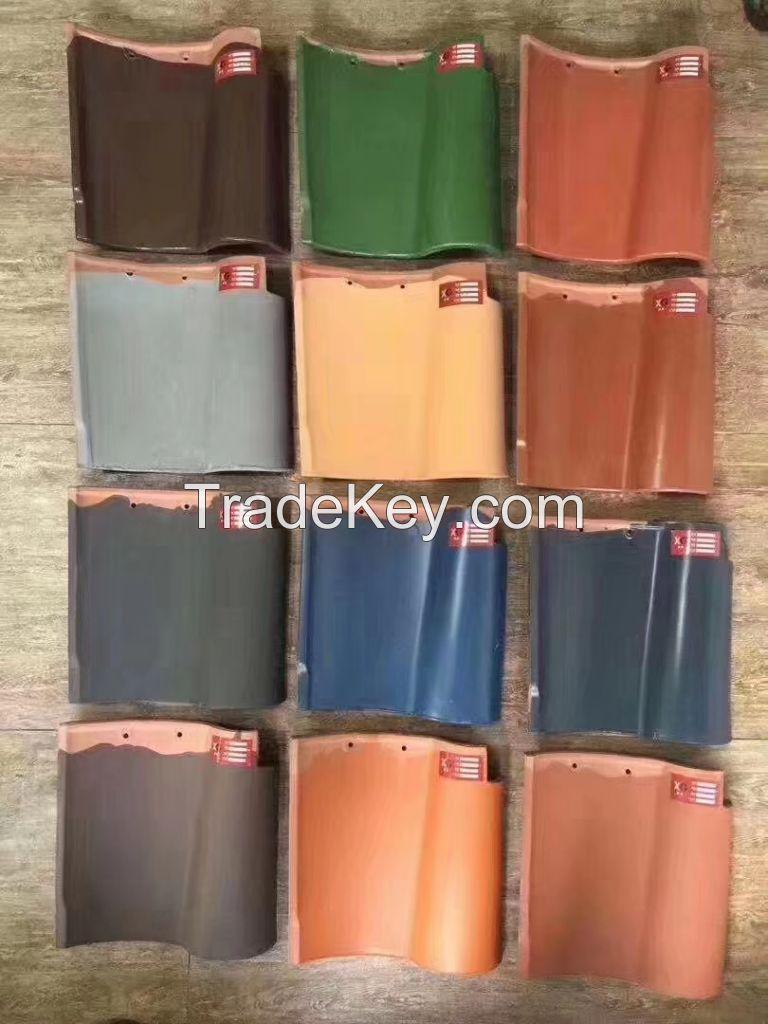 310x310mm spanish roof tile
