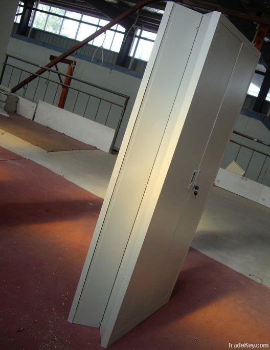 2-door foldable filing locker