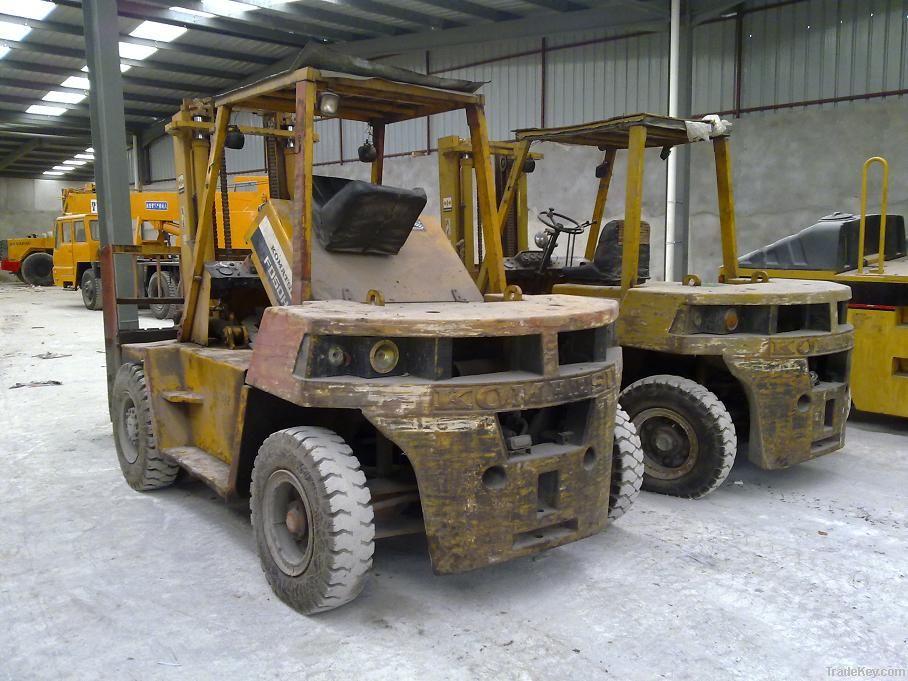 Used Komatsu Forklift, Used 5t Forklift