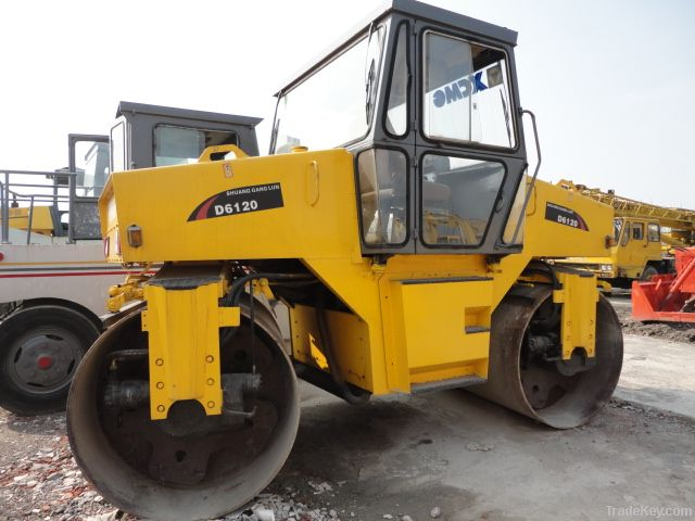Used Double Drum Vibratory Roller, XCMG