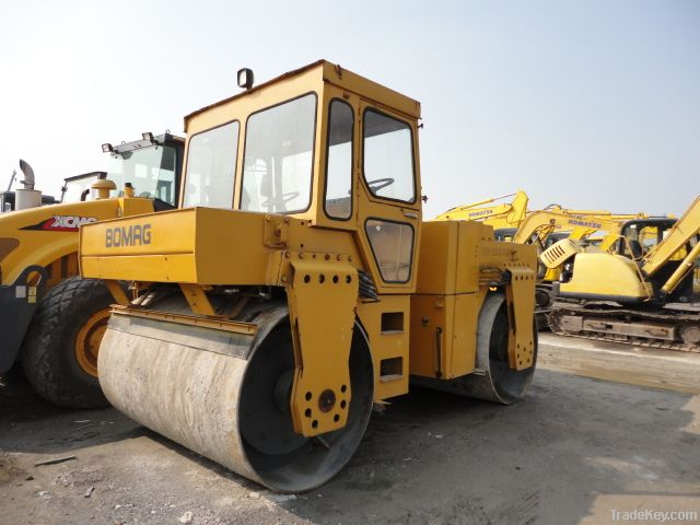 Used BOMAG Road Roller, Vibratory Roller