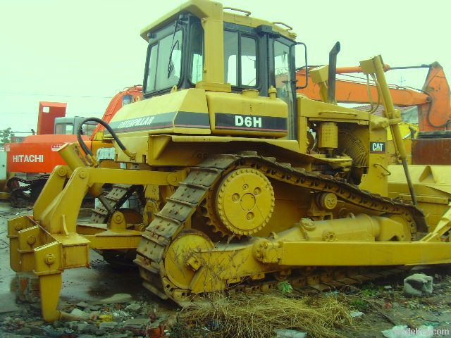Used Caterpillar D6H Bulldozer