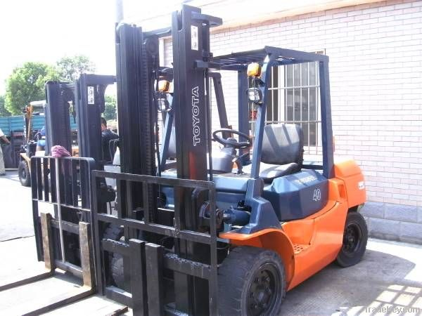 Second hand Toyota Forklift, FD40
