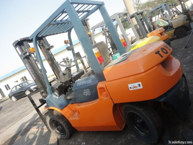 Used Toyota Forklift, FD40