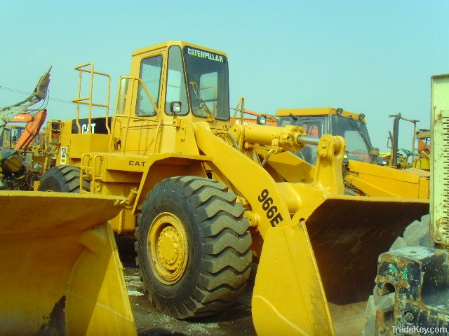Used Front Loader, Caterpillar 966E
