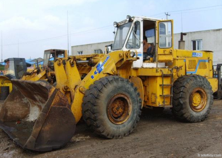 Used Kawasaki 90z Wheel Loader, Excellent condition