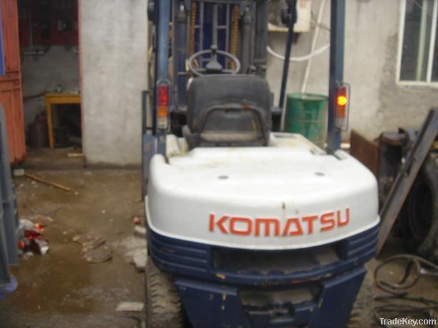 Second hand Komatsu Forklift, FD25