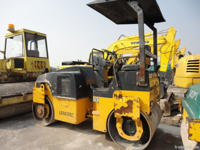 Used Longgong Road Roller, Vibratory Roller