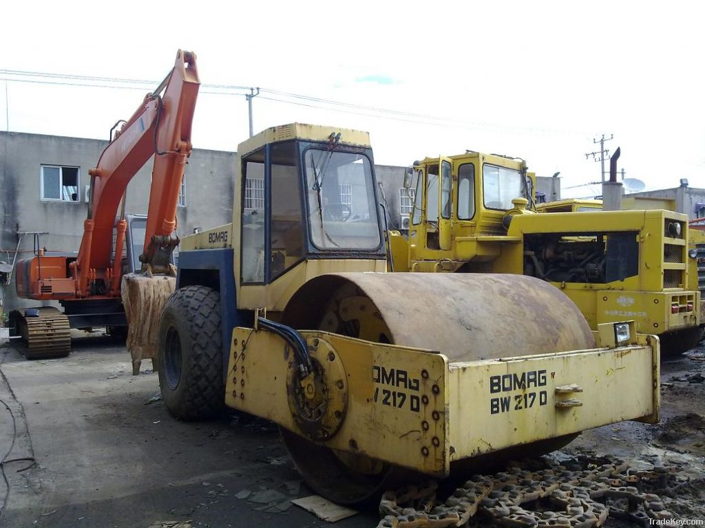Used BOMAG Road Roller, BW217D