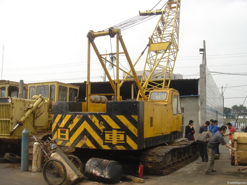 Used Hitachi Crawler Crane 35tons