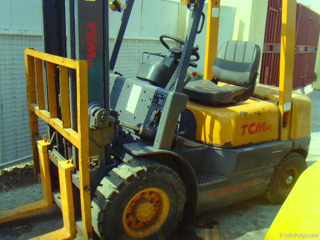 Used TCM Diesel Forklift, 2.5tons
