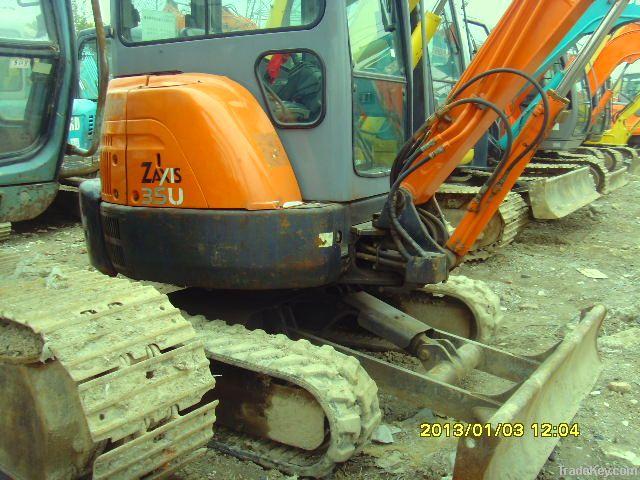 Used Mini Excavator Hitachi ZX35U