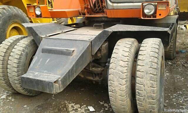 Used Hitachi Wheel Excavator EX100WD