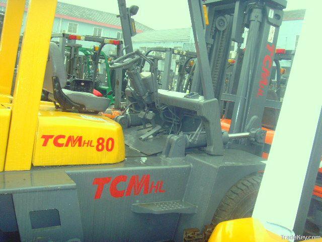 Used Forklift Truck , TCM Forklift