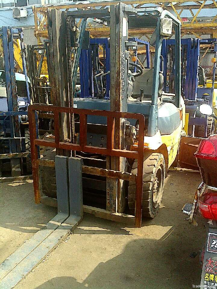 Used Good quality Toyota Forklift, 3tons Forklift