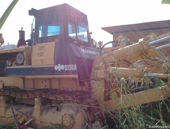 Second hand Crawler Bulldozer, Komatsu D155A-2