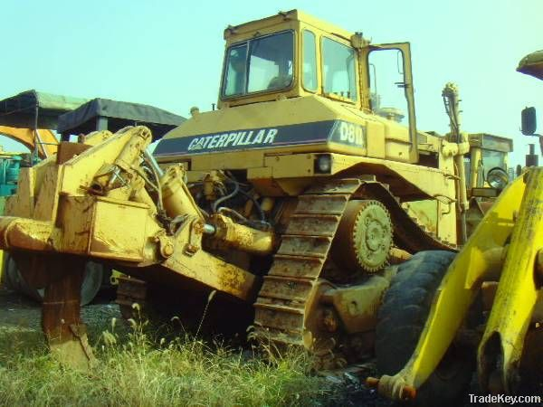 Used Crawler Bulldozer, Original Caterpillar D8R