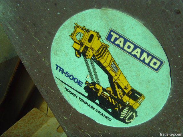 Used Tadano Rough Terrain Crane GR500E