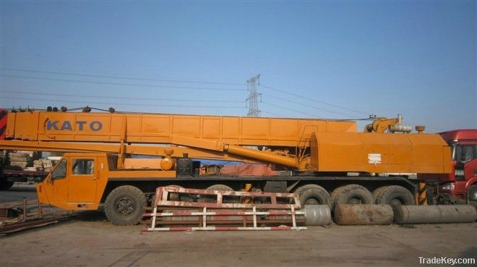 Used KATO Truck Crane, 80T