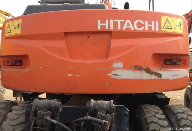 Second hand Wheel Excavator, Hitachi ZX130W